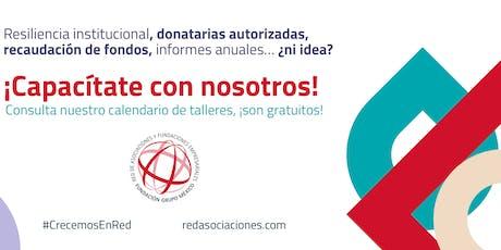 #UnDíaParaDar: ¿Cómo hacer un campañas que SÍ procuren fondos? boletos