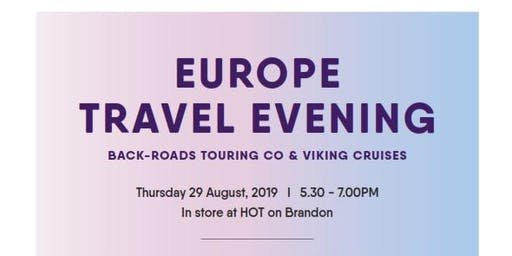House of Travel Europe Evening with the Wellington Property Investors Assoc