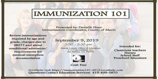 Immunization 101 Workshop