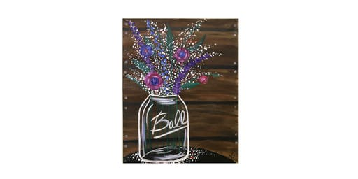 Mason Jar Flowers | $25