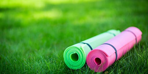 Yoga and Meditation in the Park