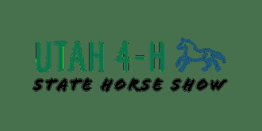 Utah 4-H State Horse Shows