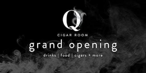 Q Cigar Room Grand Opening
