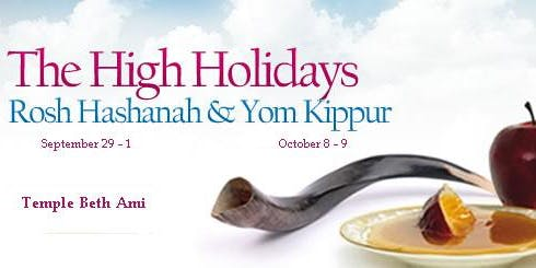 Celebrate High Holidays at Temple Beth Ami