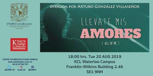 Screening of Llévate mis amores (All of Me)