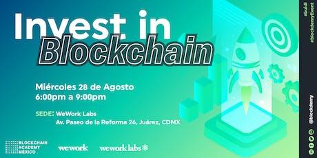 Invest in Blockchain tickets
