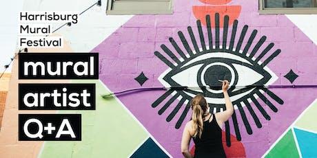 Mural Artist Q&A | Harrisburg Mural Festival 2019 tickets