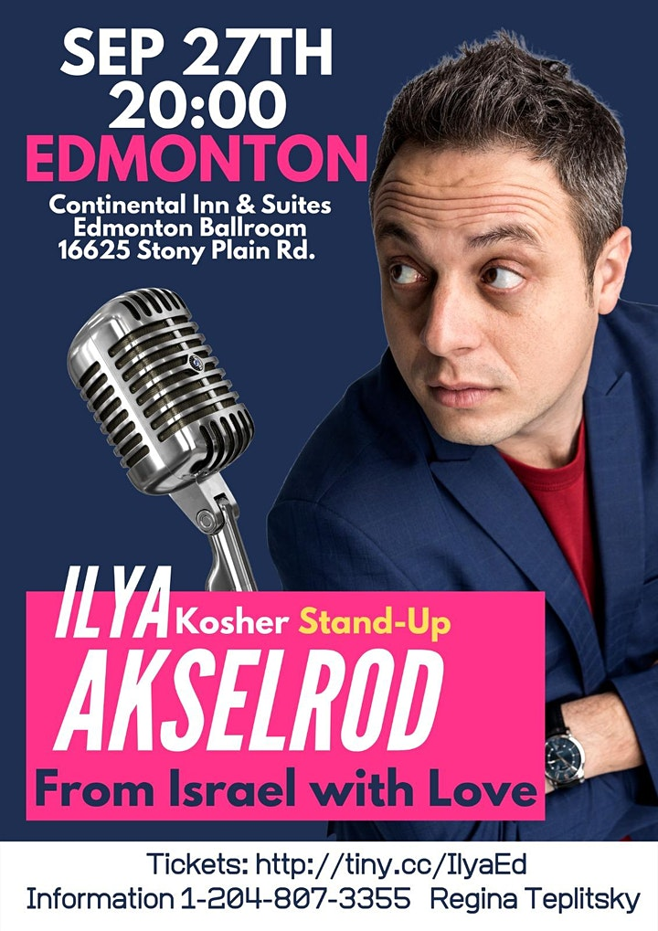 Ilya Akselrod  StandUp in Edmonton 27 September image