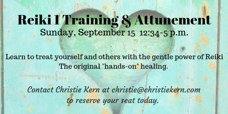 Reiki Level 1 Training and Attunement during Full Moon Energy tickets