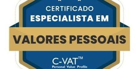 Formação - Especialista em Valores Pessoais C-VAT ingressos