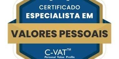 Formação - Especialista em Valores Pessoais C-VAT