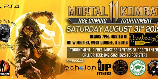 RBE GAMING MORTAL KOMBAT 11 TOURNAMENT EXCLUSIVE PRIZE PACK