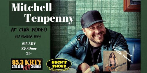 95.3 KRTY and BECK's SHOES Present Mitchell Tenpenny and Tenille Townes