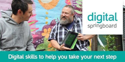 Digital Springboard: Writing for social media