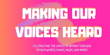 Tell 'Em Girl Presents MAKING OUR VOICES HEARD tickets