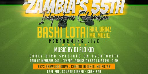 Zambia's 55th Independence Celebration
