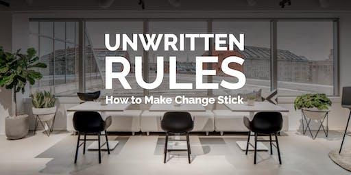 Allsteel Unwritten Rules
