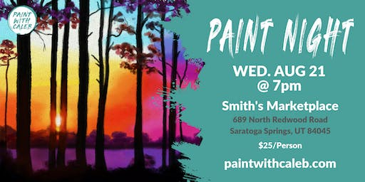 Paint Night at  Smith's Marketplace