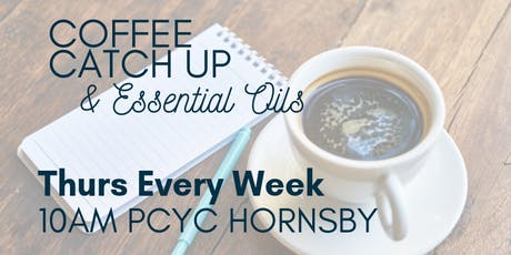 COFFEE CATCH UP & ESSENTIAL OILS tickets
