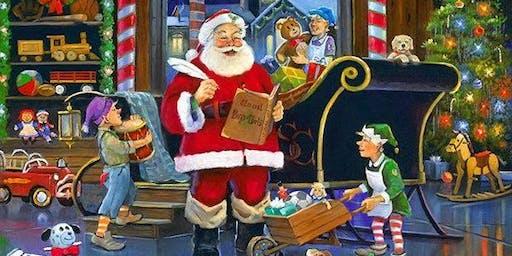 Santas workshop for children under 12.