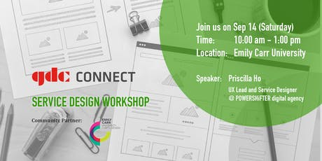 GDC Connect Workshop - Service Design tickets