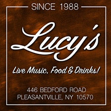 Lucy's Lounge Up Close and Personal Series - Pleasantville, NY logo