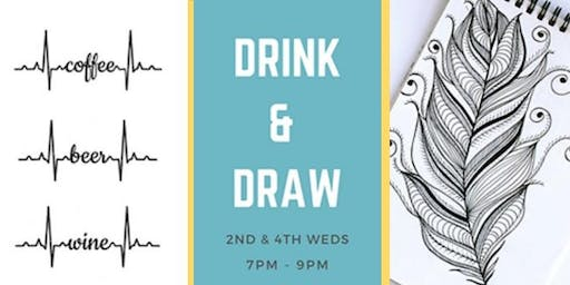 Drink & Draw at Mean Mug