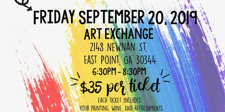Paint and Sip to Provide Homes for All! tickets