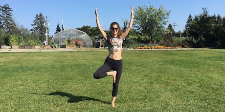 Yoga & Iced Tea in the Park tickets