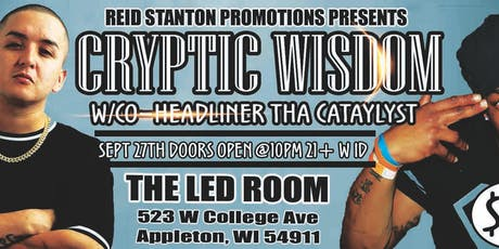 Cryptic Wisdom Live At The LED ROOM  tickets