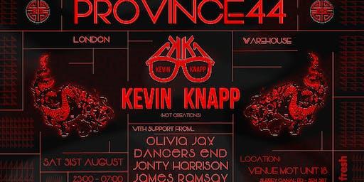 PRO44 x KEVIN KNAPP | London Warehouse Party