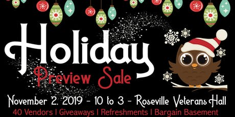 Holiday Preview Sale tickets