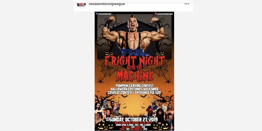 Fright Night with the Machine Brian Cage