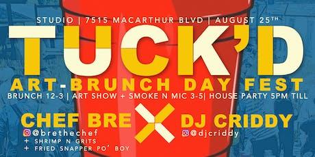 TUCK'D: Art Brunch Day Fest tickets