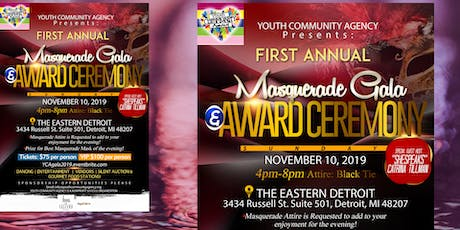 Youth Community Agency: Charity Masquerade Gala & Award Ceremony tickets