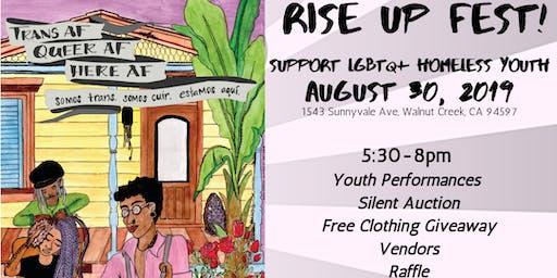 Rise Up Fest! LGBTQ+ Homeless Youth Program Fundraiser