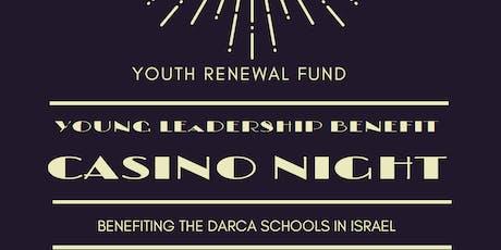 YRF Young Leadership Fall Benefit Casino Night tickets