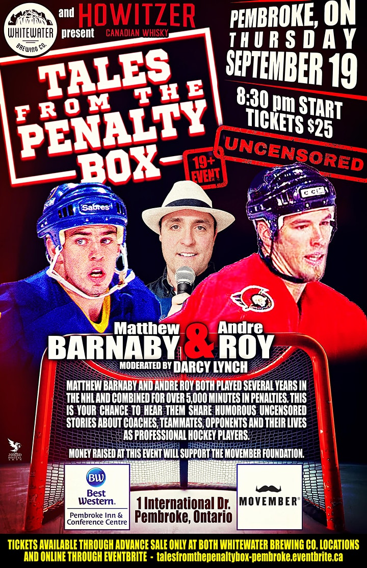 Tales From The Penalty Box - Pembroke image