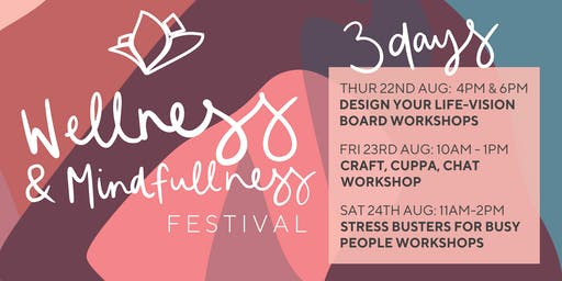Stress Busters for Busy People Workshops - Wagga Marketplace