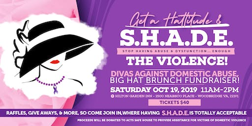 DIVAS AGAINST DOMESTIC ABUSE BIG HAT BRUNCH!