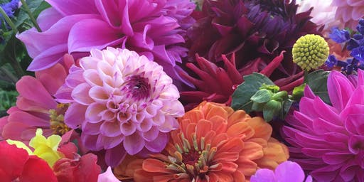 Dahlia Dreams Flower Arranging with Antonio Valente at Country Cut Flowers - Sept 7, 10:00 am