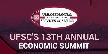 Urban Financial Services Coalition 13th Annual Economic Summit tickets