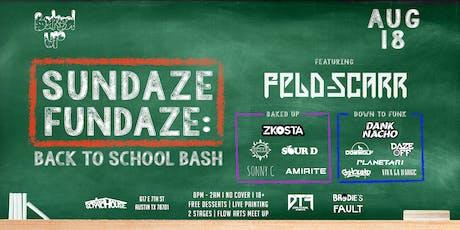 Sundaze Fundaze: Back To School Bash tickets