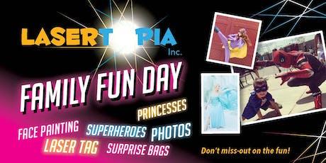 LaserTopia Family Fun Day tickets