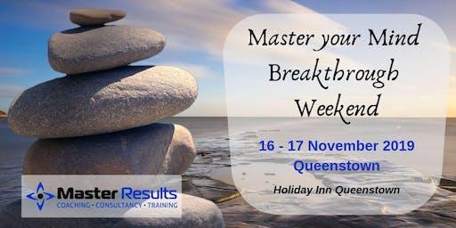 Master Your Mind Breakthrough Weekend