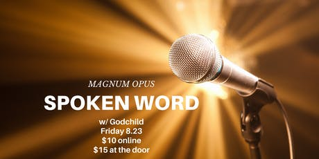 Magnum Opus: Spoken Word Poetry Night tickets