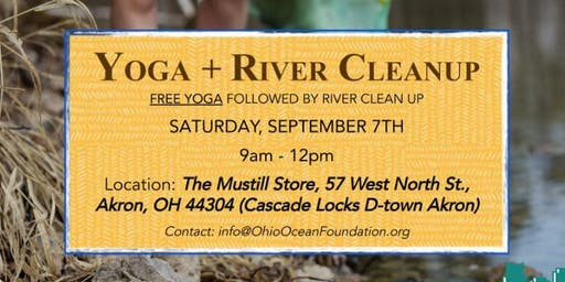 Free Yoga + River Clean Up