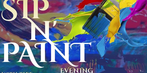 A Sip N' Paint Evening W/ Dmonte B.