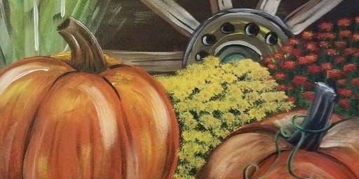 Pumpkin Corks & Canvas