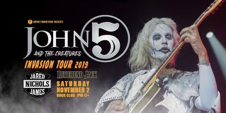 John 5 and the Creatures tickets